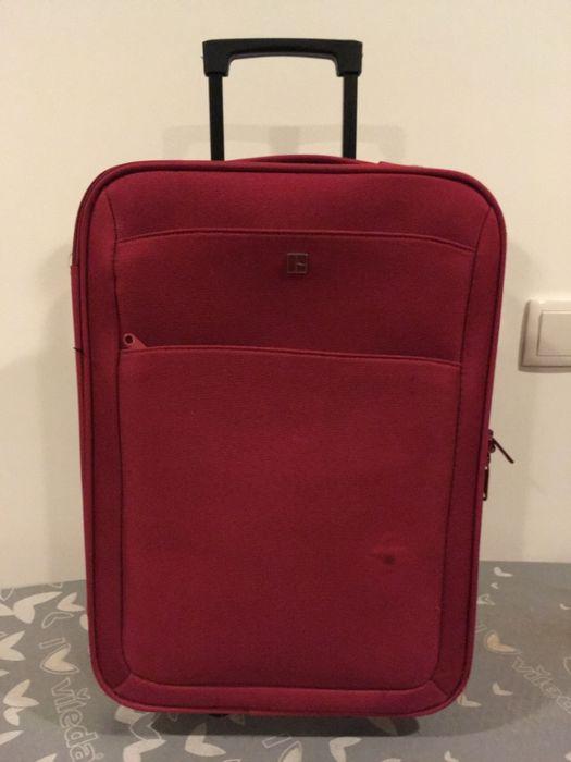 Conjunto novo mala viagem trolley e mochila Santo António