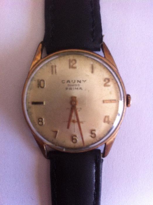 81b14c264bc Conjunto de 7 Relógios Cauny Prima de Colecção