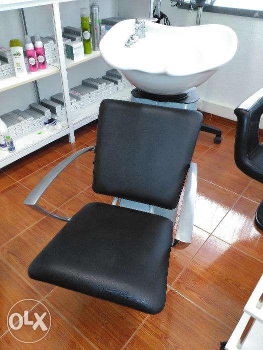 Rampa de lavagem Calha lava cabeças para Cabeleireiro / Barbeiro