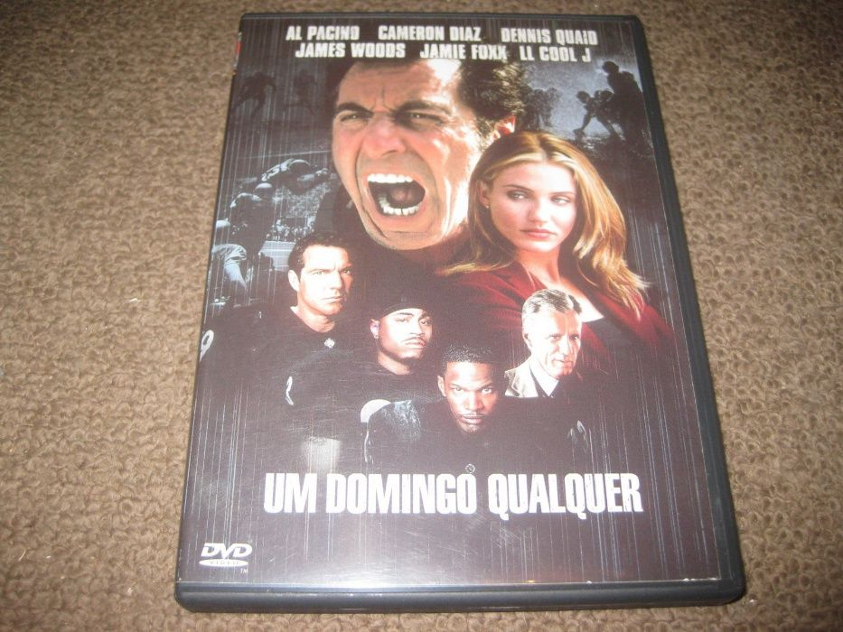 """DVD """"Um Domingo Qualquer"""" com Al Pacino/Edição 2DVDs"""