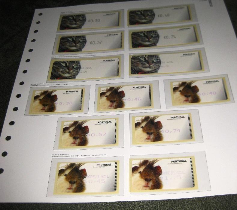 Lote Etiquetas AA Emissão Animais Domésticos 2005