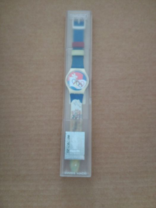 acd94c6b6fc Relógio Swatch Jogos Olímpicos Atlanta 96