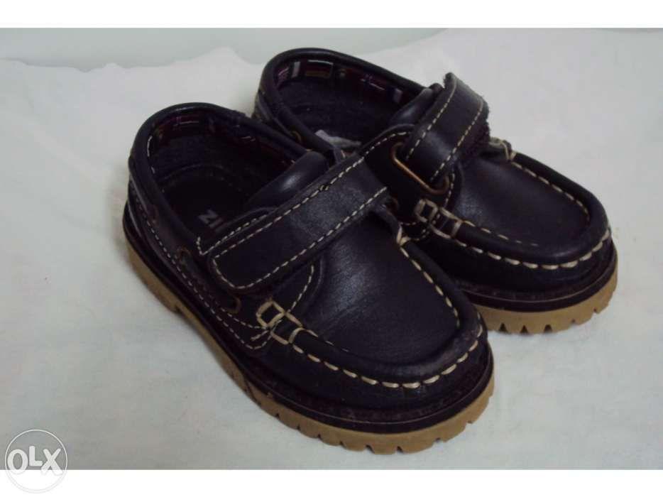 Sapatos de vela azul marinho nº21 - Zippy