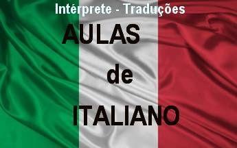 Aulas de Italiano, particulares ou grupo, para iniciantes ou avançados