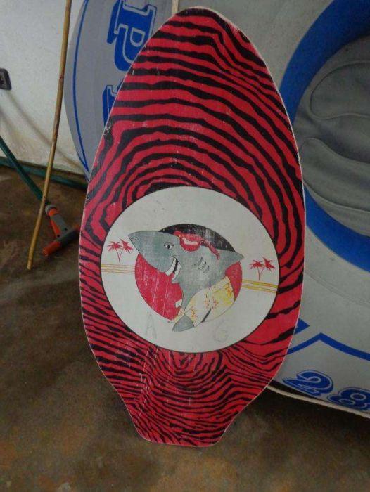 Prancha bodybord surf praia
