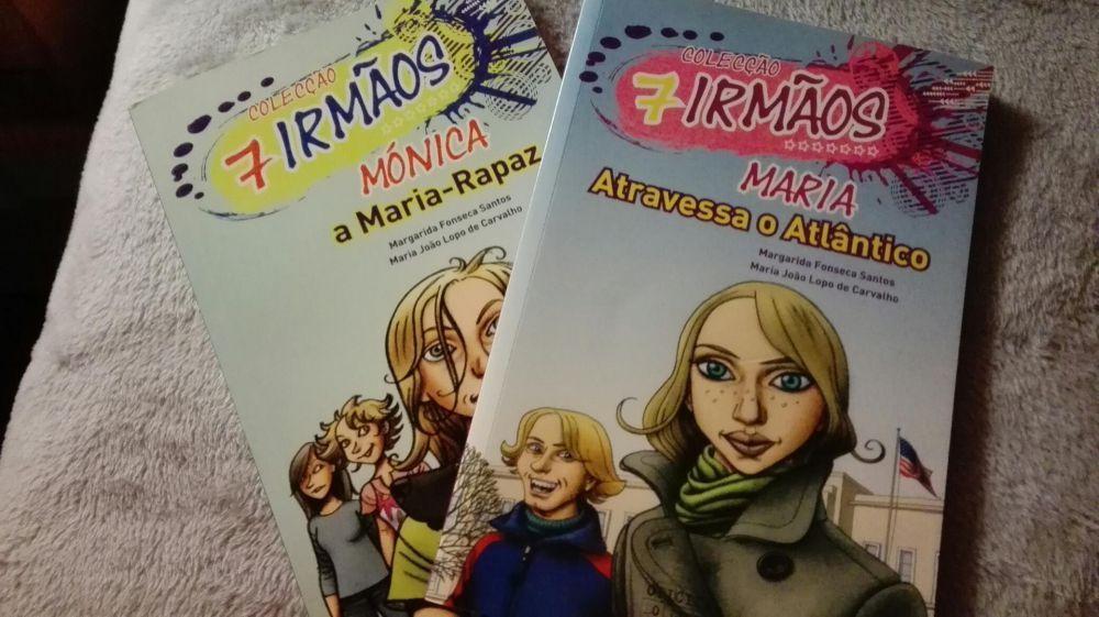 Livros novos da coleção 7 irmaos