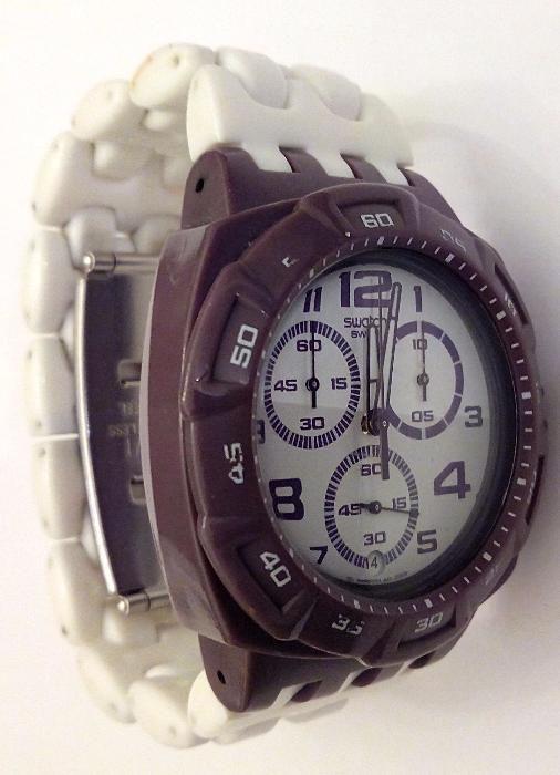 a639847a75a Relógio Swatch Chrono Plastic Purple Funk (SUIV400) Lisboa - imagem 2
