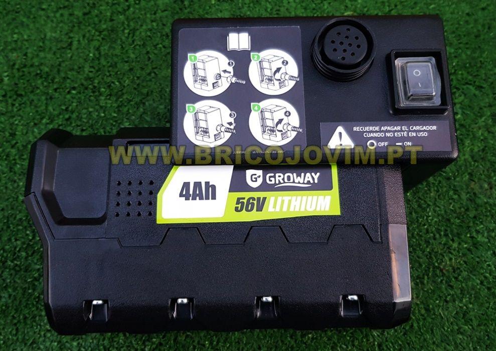 Tesoura Poda Eléctrica Bateria - Bateria 4Ah/56V - Uso Intensivo NOVAS Gondomar - imagem 8