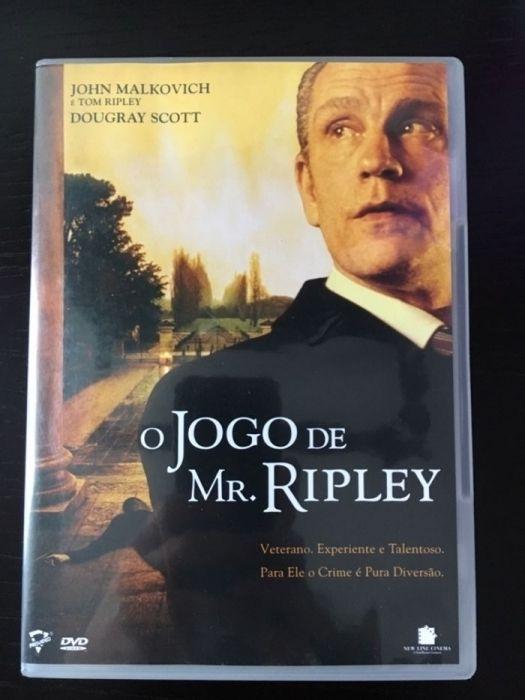DVD Filme O Jogo de Mr. Ripley