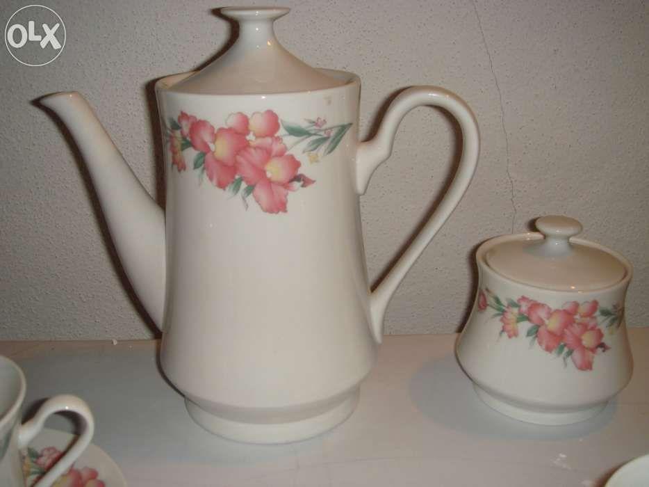 Serviço de chá,porcelana, NOVO Lamego (Almacave E Sé) - imagem 3