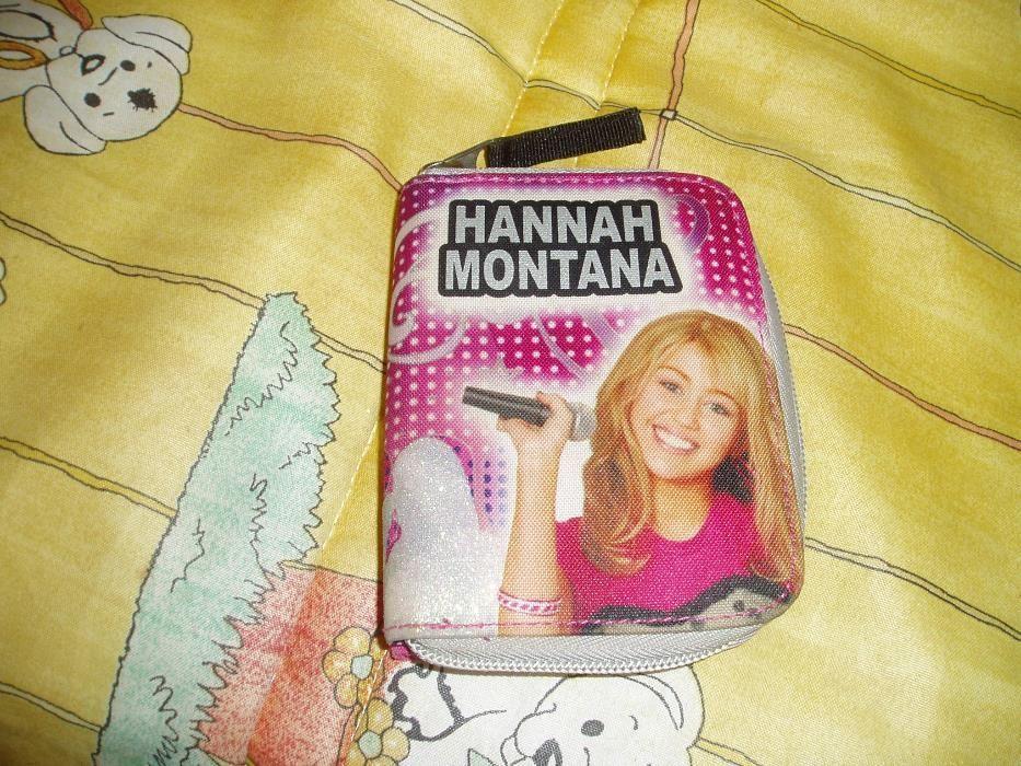 Carteira Hannah Montana