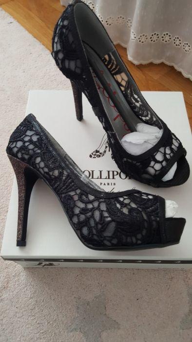Sapatos lollipops com Purpurina_Novos