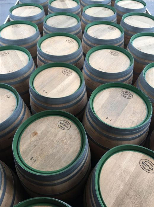 Barricas/Barril/Pipos avinhados madeira de carvalho 225 litros Bougado (São Martinho E Santiago) - imagem 2