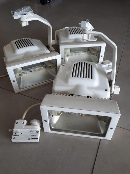 Retroprojetores direcionais com calha eletrificada