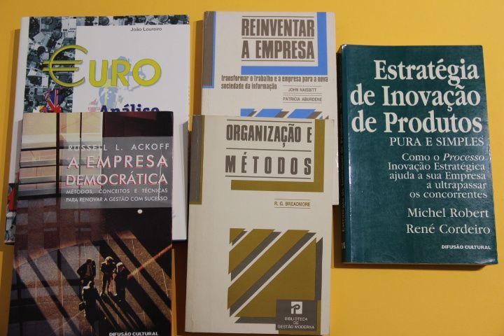 Livros sobre Empresa, Macroeconomia, Estratégia e Inovação