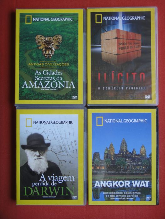 National Geografic DVD´s