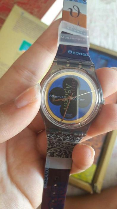 Relógio swatch de coleção
