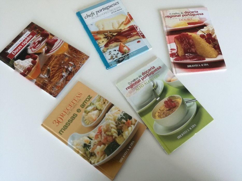 Culinária - 5 livros