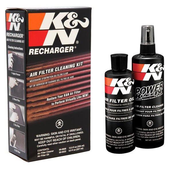Kit limpeza Filtro de ar K&N
