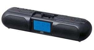 Coluna de som JVC RA-P11BK sistema de áudio portátil para IPOD