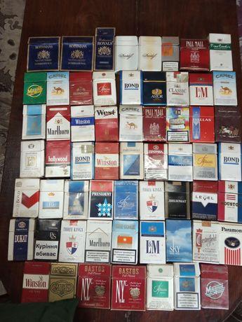 Купить пачки сигарет для коллекции сигареты купить в домодедово