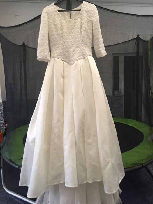 Vestido de cerimónia novo da h Compra, venda e troca de anúncios