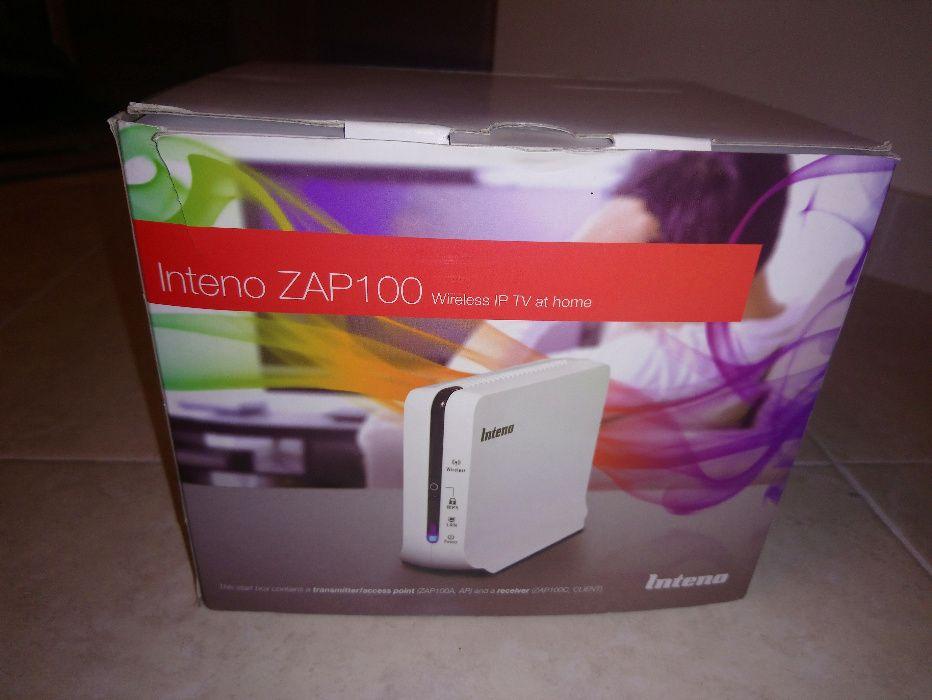 Inteno ZAP100 802.11n Video bridge for multi-room HD IPTV [NOVO]