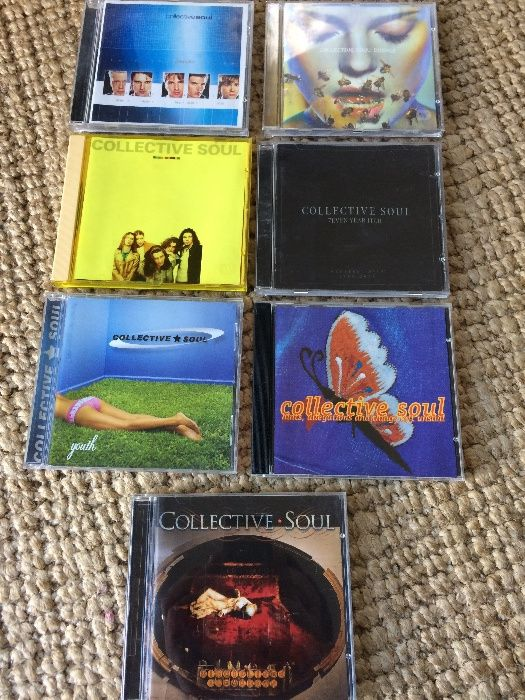 Collective Soul ( Pack CDS )