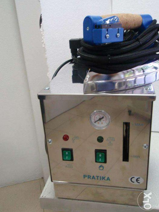 Arquivo: Gerador de vapor, inox, profissional com 1 ferro