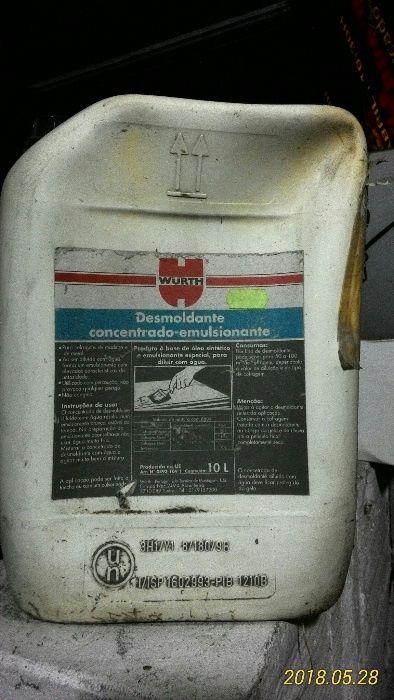 CONSTRUÇÃO-Desmoldante concentrado Madeira e Chapa,Wurth Moita - imagem 1