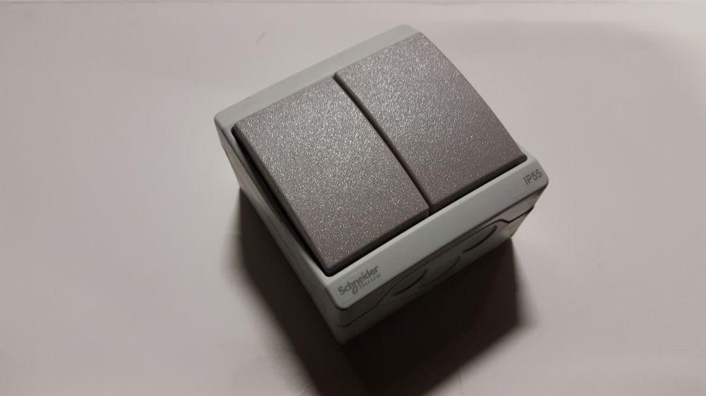 Interruptor / Comutador Duplo Schneider Electric IP55