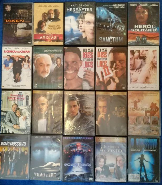 Lote 120 DVD's originais (Lote 10)