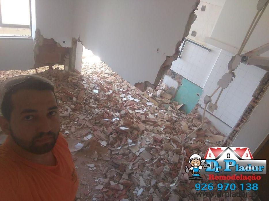 Remodelação, Pintura , Pladur, Divisoria teto falso montagem moveis