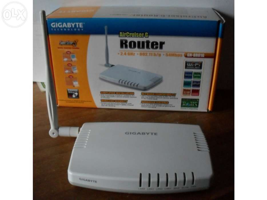 Router wireless da Gigabyte