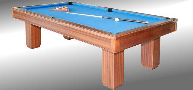 Montagem e colocação de pano em bilhares snooker