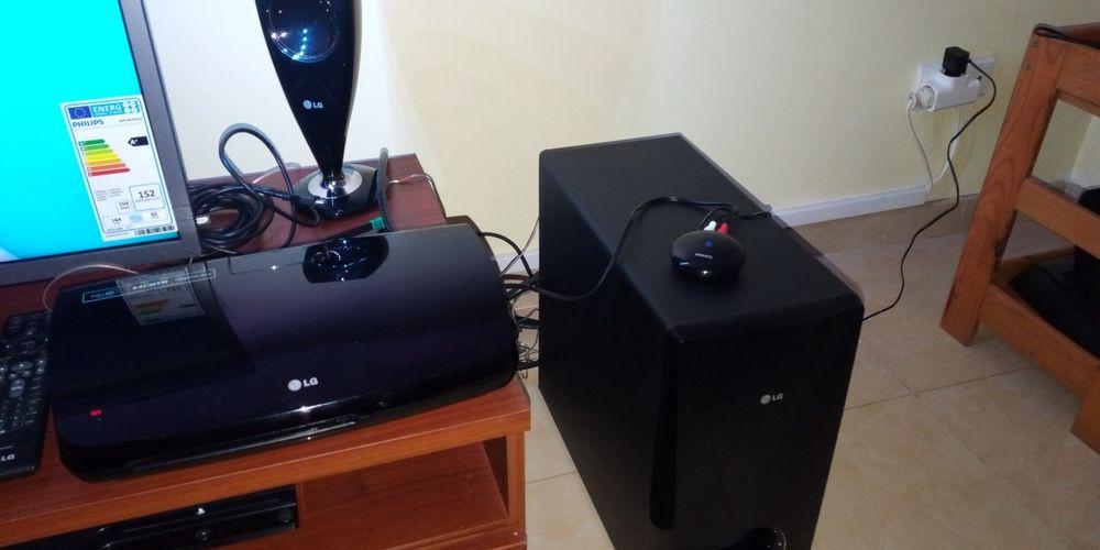 Sistema de som LG Premium/DVD/USB/Bluetooth