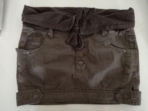 Spódnica mini wzorzysta ZARA rozm. M z kieszeniami Pułtusk