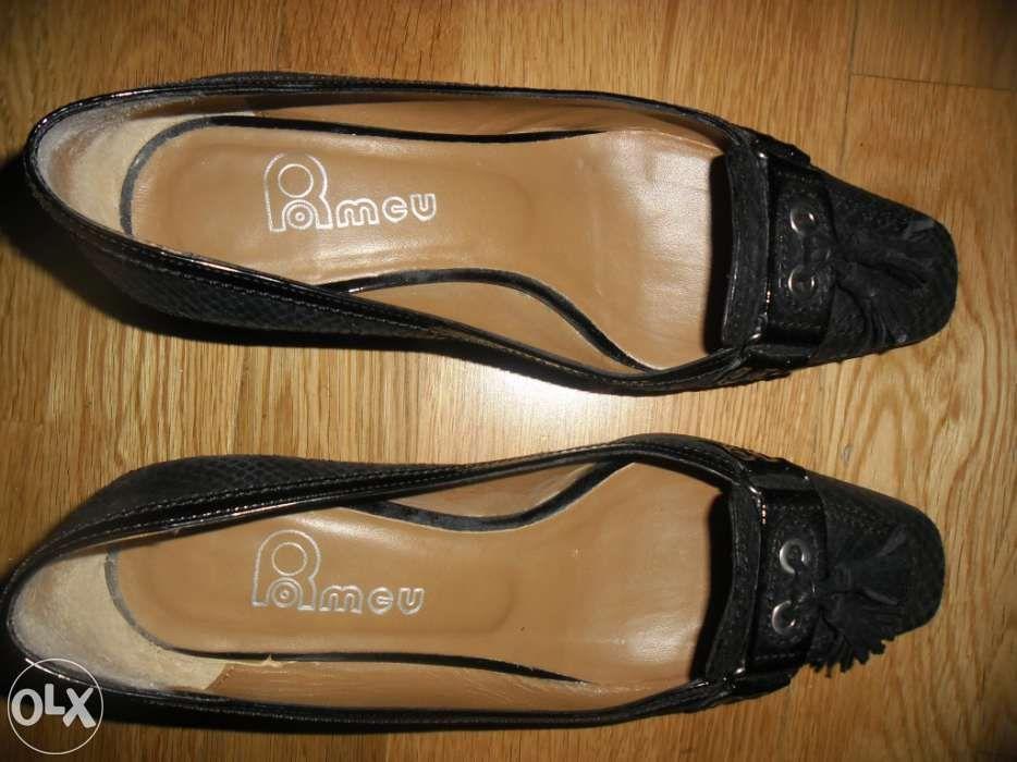 Sapatos 37 da ROMEU novos portes gratis Coimbra • OLX Portugal