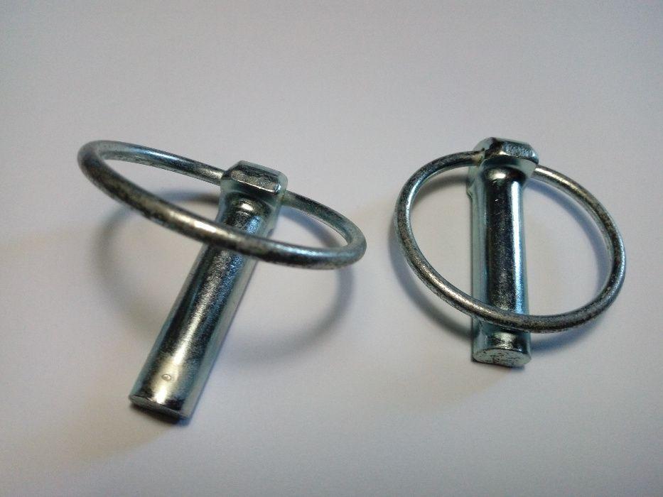 Cavilha de segurança em aço com mola, 11 mm