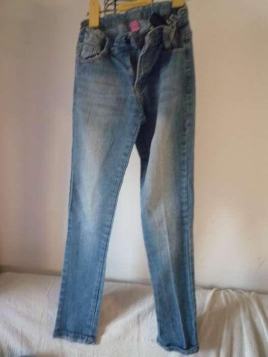 Calças de ganga 12 anos com cintura ajustável Campolide - imagem 1