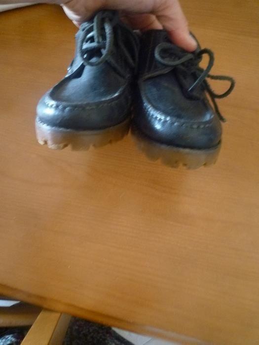Sapatos em pele nº 34 Fabricado em Portugal Campolide - imagem 7