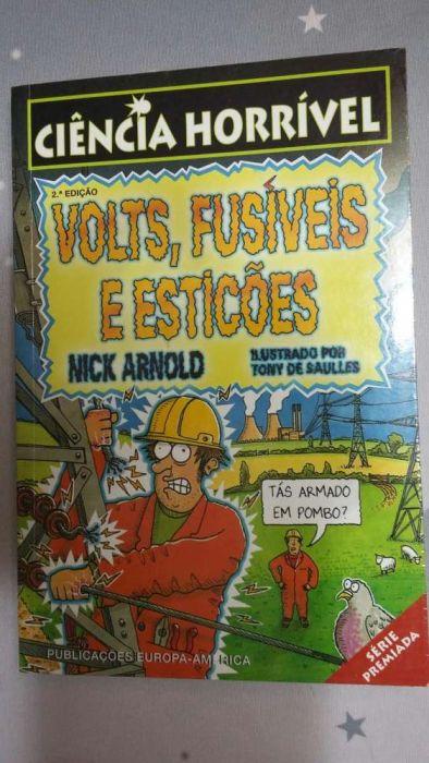Colecção Ciência Horrível - Livro Juvenil