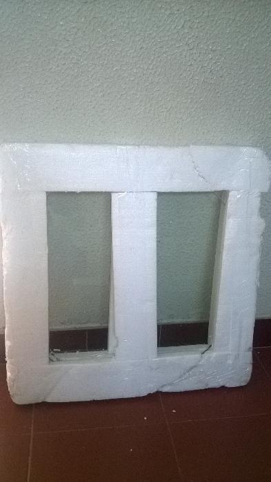vidro em forma de circulo