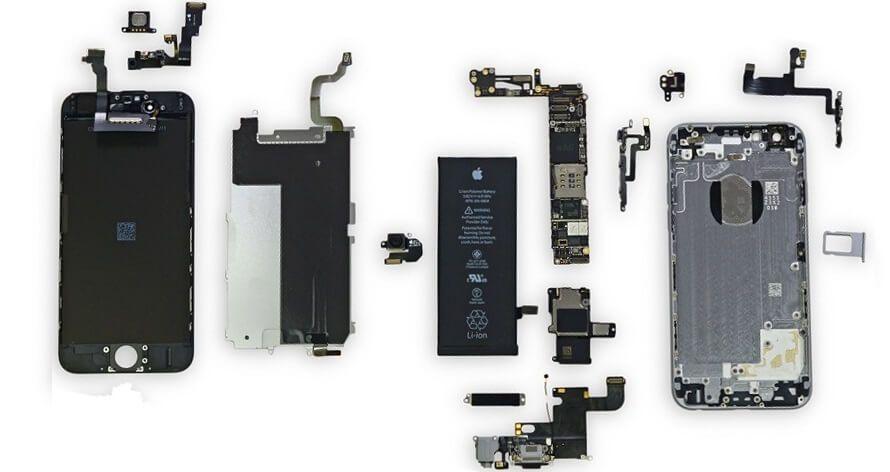 iphone 4 5 6 7 8 reparação de lcd display vidro ecra visor bateria Cidade Da Maia - imagem 1