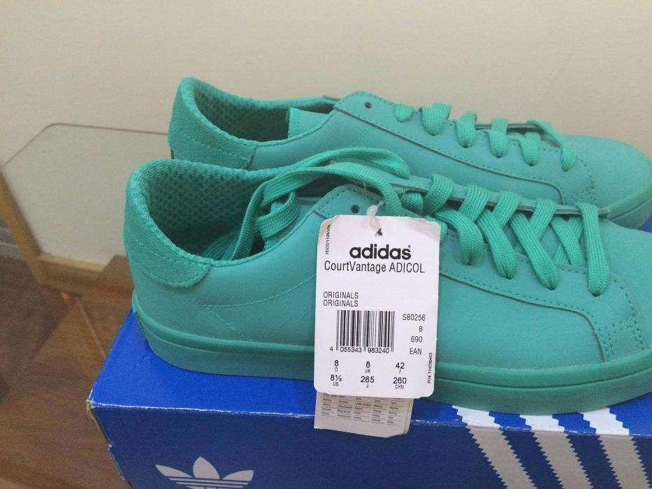 7d091d145 Sapatilhas adidas Originals Court Vantage Adicolor Green