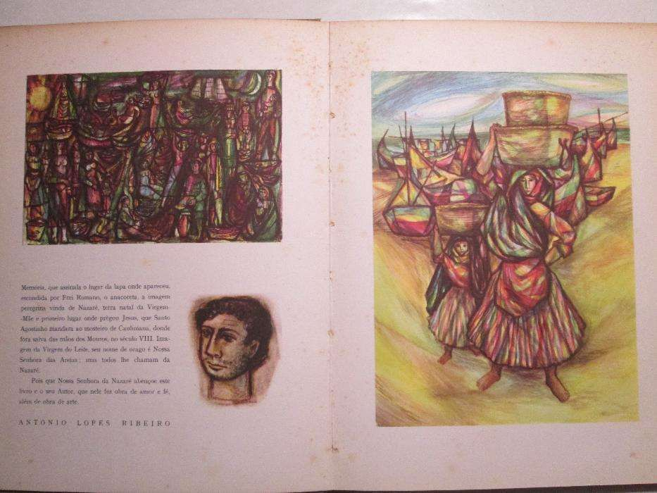 "Livro raro ""Nazaré"" Thomaz de Mello (TOM) -1958- Ed. limitada 1000 ex."