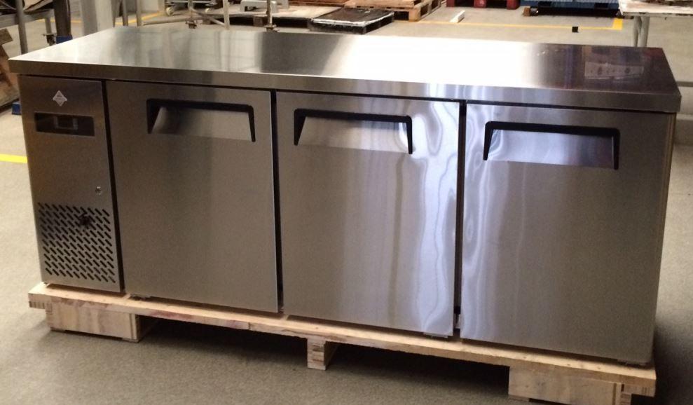 Bancada frio mesa refrigerada máquinas de hotelaria