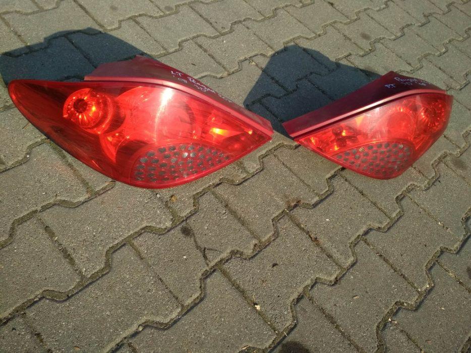 tylny klosz lampy tylnej lewej do sam peugeot 207
