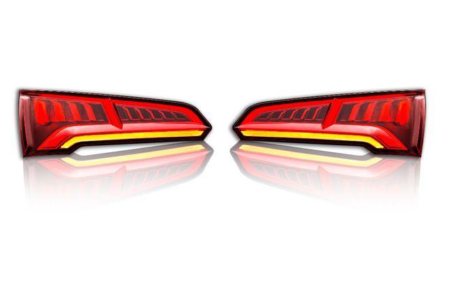 Audi Q5 80A lampy tył USA dostosowane do EU Adaptacja