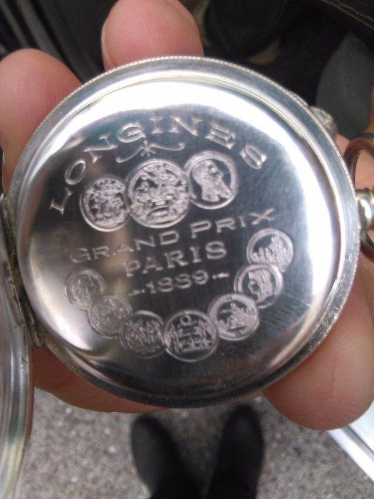 68dcfa6be83 Relógio de bolso LONGINES